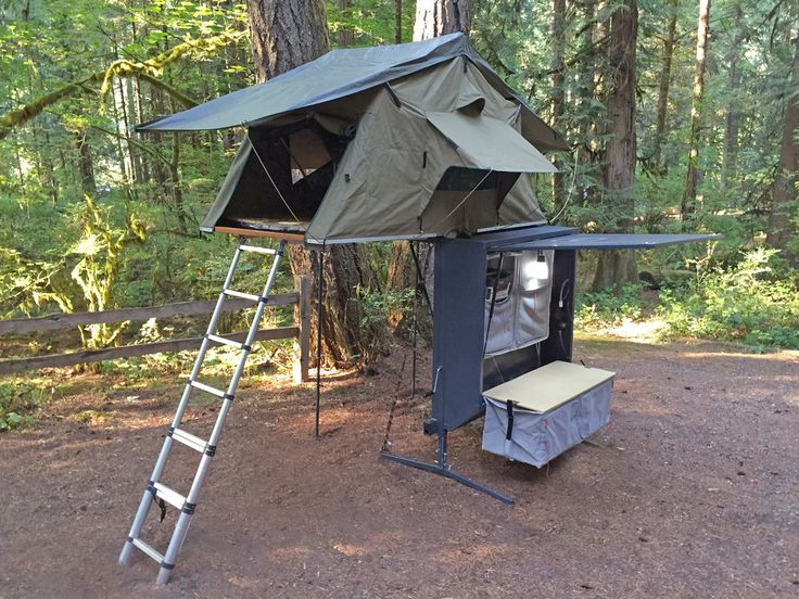 Nomad Hitch Camper With Roof Top Tent Amp Annex Car