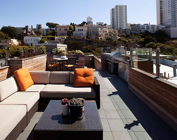 Rooftop Deck Design Ideas rooftop terrace design ideas Decorating A Rooftop Space In Five Easy Steps