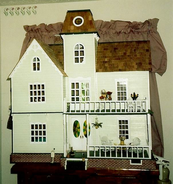 Rutherford Artply House With Addition My Dollhouses
