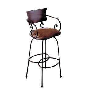 Ambiente A50BS30 SA Handmade Wrought Iron Bar Stool: Home Improvement