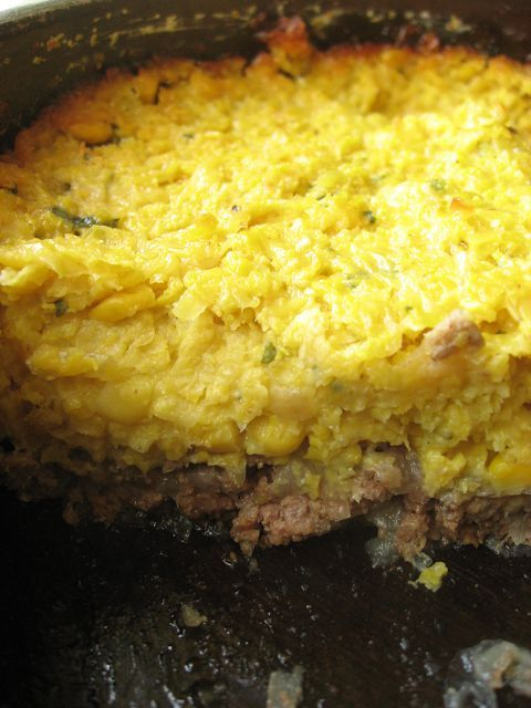 Pastel de choclo / Chilean corn pie