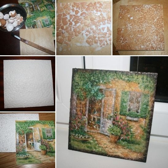 Craft This Unique and Easy Eggshell Mosaic