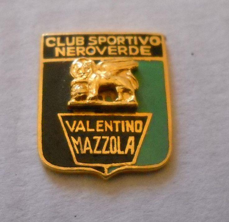 calcio distintivo Mazzola Venezia Torino badge football pin