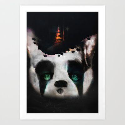 Dog ( Capalau) Art Print by zumzzet - $16.00