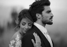 Sweet wedding photograph.