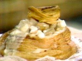 Vol au Vent Fruits de Mer from CookingChannelTV.com