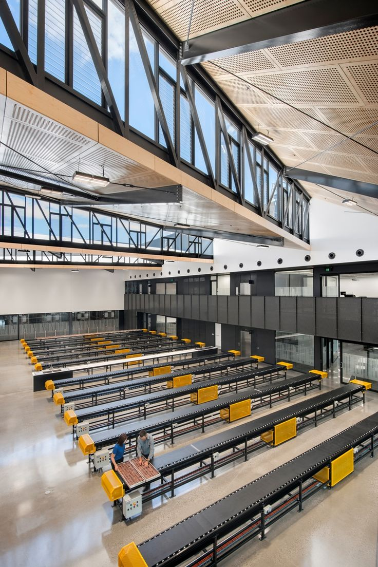Architecture and Design | State Drill Core Library, South Australia. Brown Falconer.