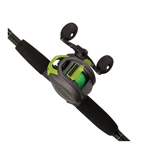 Shakespeare Ez Casting Rod & Reel Combo (1 Piece), Medium-Heavy/ 7'  https://fishingrodsreelsandgear.com/product/shakespeare-ez-casting-rod-reel-combo-1-piece-medium-heavy-7/  Rod and reel Combo built for accurate, Hassle-Free casting Anti-backlash System facilitates precise casting and keeps line tangles to a minimum 3 bearing System helps ensure smooth Operation and fluid casting