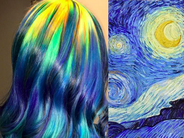 This Hairstylist Colors Hair To Look Like Classic Paintings