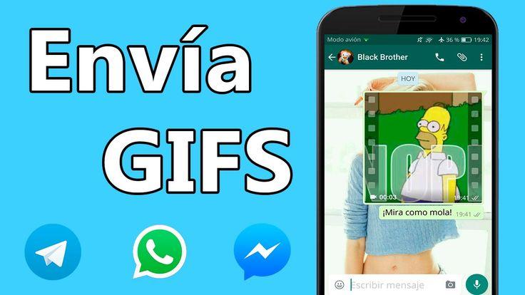 cool Envia Gifs animados por Whatsapp, Facebook Messenger, Telegram...