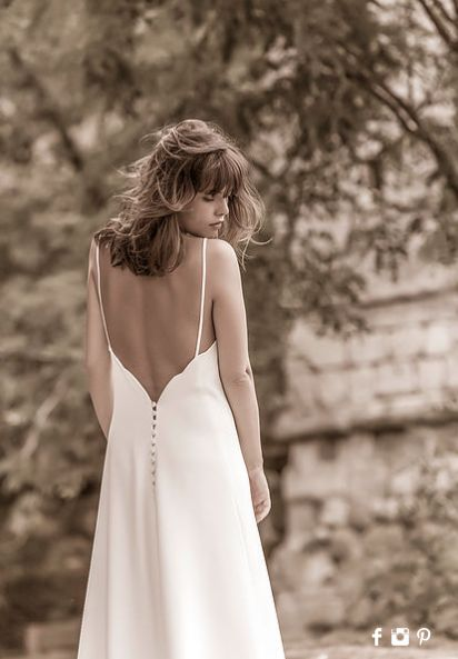 Classic wedding dress by Victoire Vermeulen. but so classy and chique!