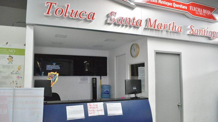 Suspenden corridas de Cuernavaca a Toluca por secuestro de autobuses