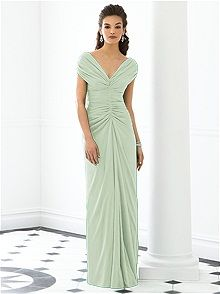 After Six 6652 Green Bridesmaid Dress