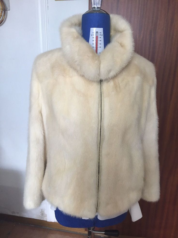 pelliccia da donna di visone taglia 44 come nuova | eBay