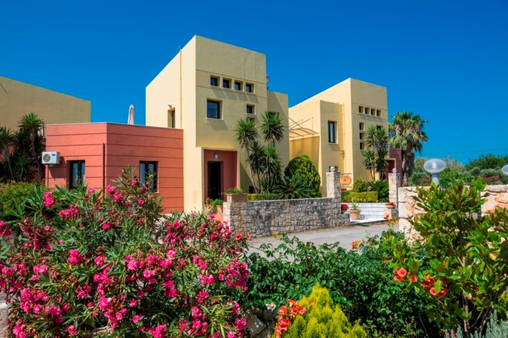 """Kleurrijke villa """"Daphni 1"""" in Kreta."""