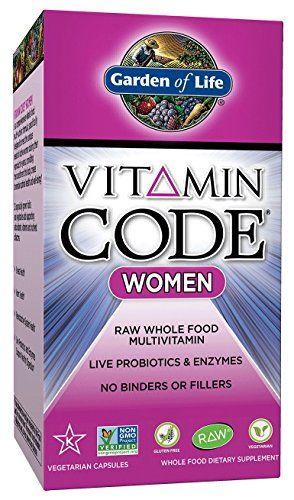 Garden of Life Vitamin Code Women's Multi, 120 Capsules Garden of Life http://www.amazon.com/dp/B00280M13Y/ref=cm_sw_r_pi_dp_oxqYvb1JK738X