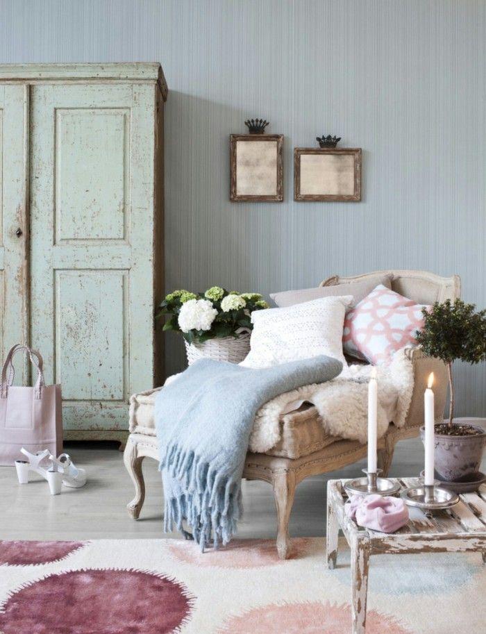 die besten 25 shabby chic teppich ideen auf pinterest. Black Bedroom Furniture Sets. Home Design Ideas