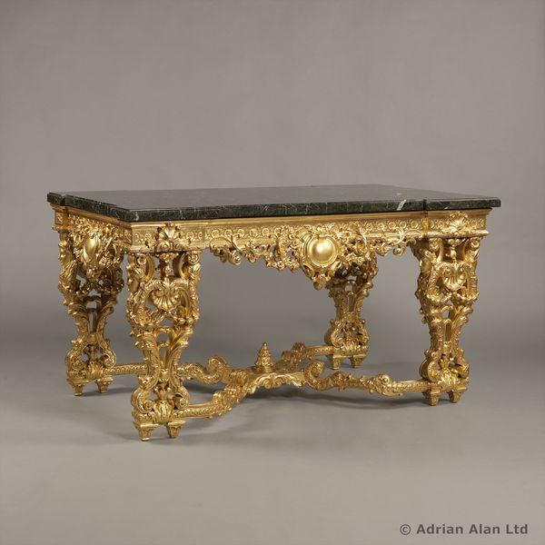 A Finely Carved Giltwood Centre Table - Art and Antiques - Online Galleries Extranet