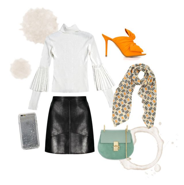 """""""Working girl"""" by florenzcollection on Polyvore featuring mode, Florenz, Charlotte Olympia, Chloé et Agent 18"""