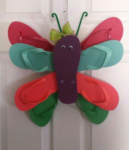 butterfly flip flop