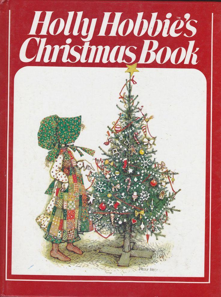 """Holly Hobbie's Christmas Book"" by Holly Hobbie 1980 (http://themarlowebookshelf.blogspot.com/2010/12/holly-hobbies-christmas-book.html)"