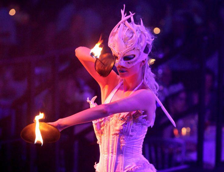 Entertainment at Cirque de Lumière 2012. (Photo Credit Vivid Experience Ltd)