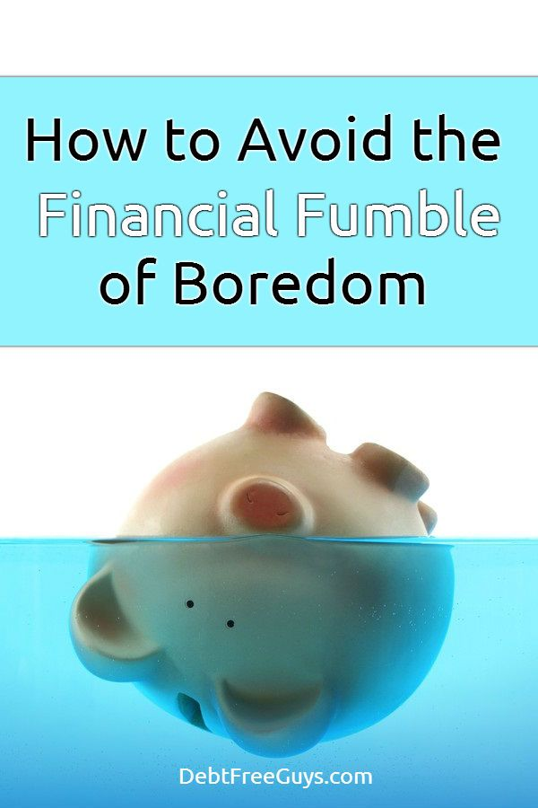 Bored? Feeling the urge to spend? We get it. We did too. Here are a few tips to keep you from the spending, from being bored and to help you live debt free. via @DebtFreeG