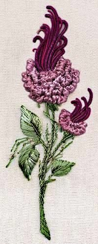 Милые сердцу штучки: Техники вышивания. Часть 18: Brazilian Dimensional Embroidery (Бразильская вышивка)