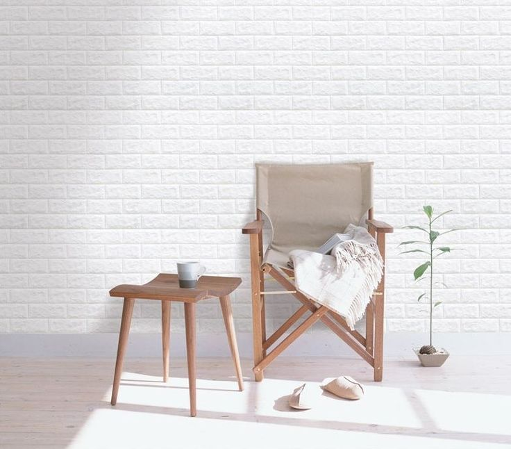 Luxury 3D Brick Wall Textured Foam Wallpaper, 71x78 cm (27.95x30.70 inch) Sheets #INDESIGN