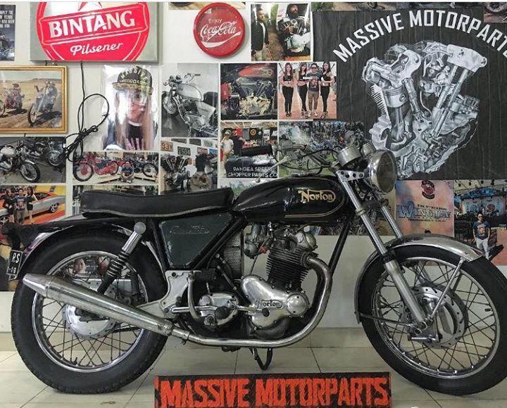 LAPAK MOTOR KLASIK : For sale 1969 Norton Commando 750cc - BANDUNG