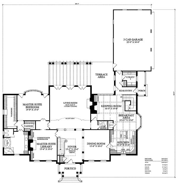 74 best house plans images on pinterest floor plans for Traditional southern house plans