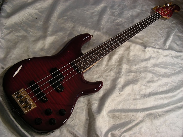 Fender Precision Lyte in Red (affectionately known as Ruby)