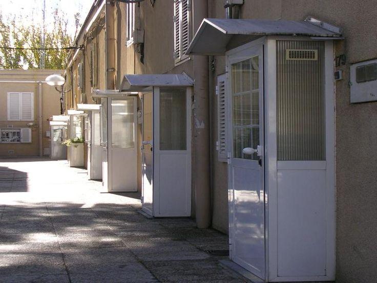 Peculiares entradas a sus casas