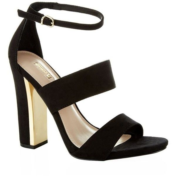 Carvela Kurt Geiger Gossip Suede Sandal ($170) ❤ liked on Polyvore featuring shoes, sandals, strap shoes, strappy shoes, open toe sandals, holiday shoes and evening sandals
