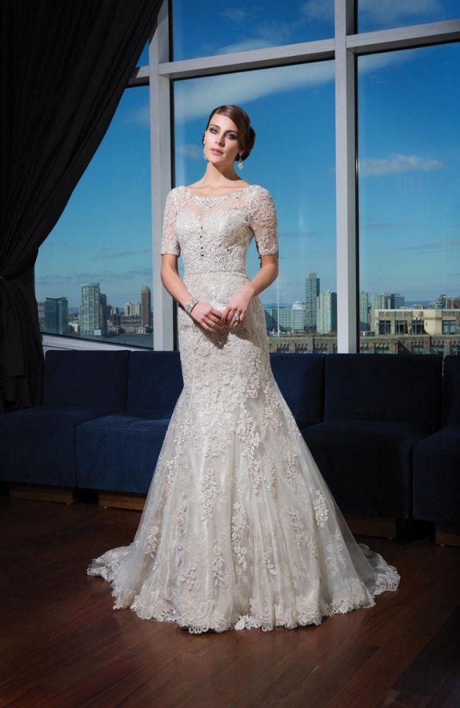 46 best Wedding Dresses images on Pinterest | Wedding frocks, Short ...