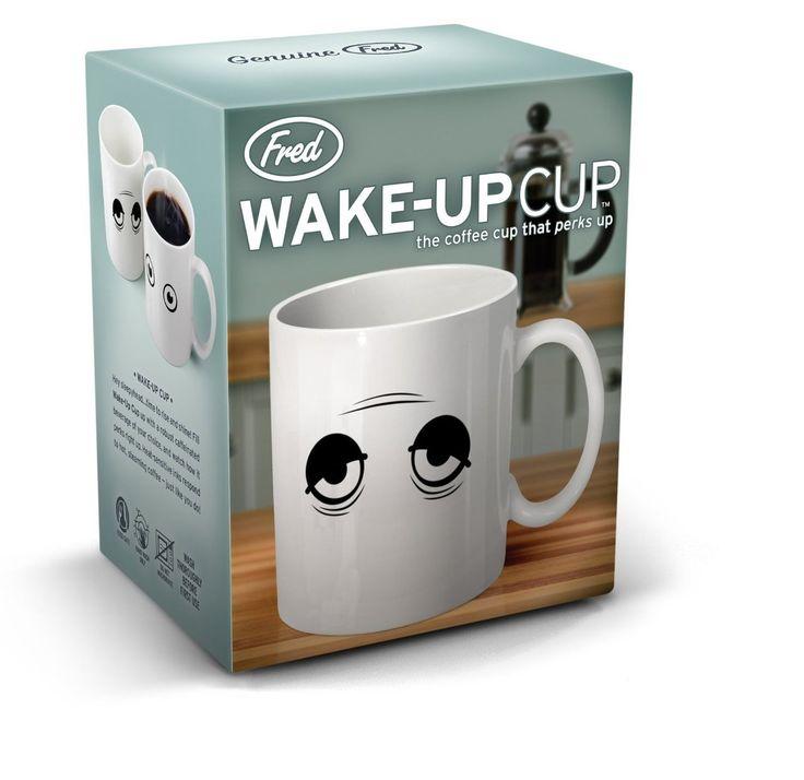 Magic Mug Wake Up - Matanya bisa terbuka setelah terkena air panas:) Harga hanya Rp 86.000 saja, Stock sangat terbatas! :)