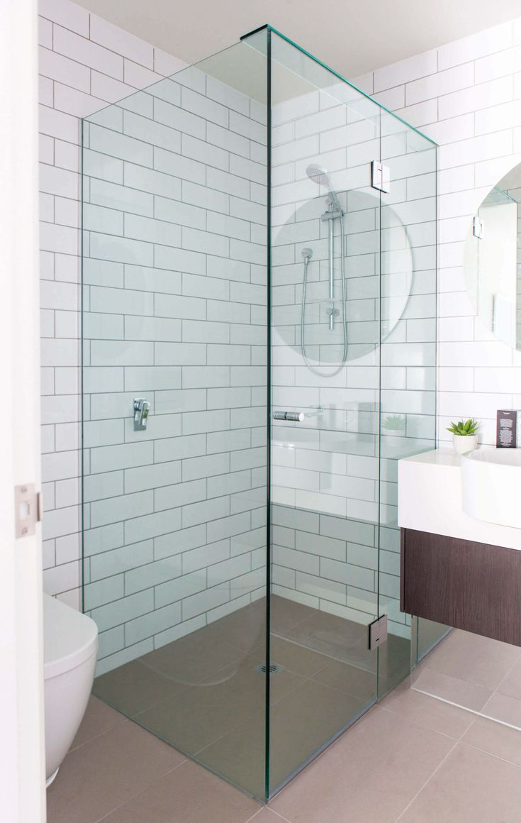 Frameless Shower Screen - Fully Frameless Shower Screens - Bathroom Screens - Frameless Shower - Frameless Shower Ideas - Frameless Screens Perth