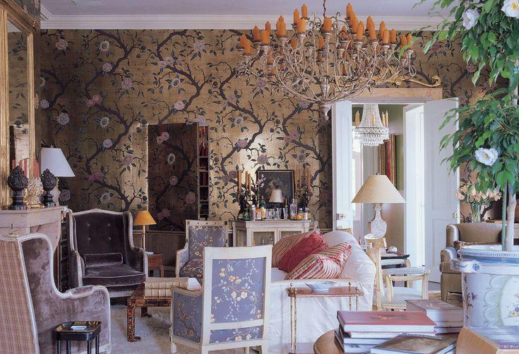 Nicky Haslam Wallpaper Love Home Interior Design Interior Design House Interior
