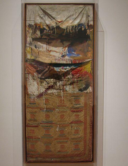 Bed, Robert Rauschenberg, 1955