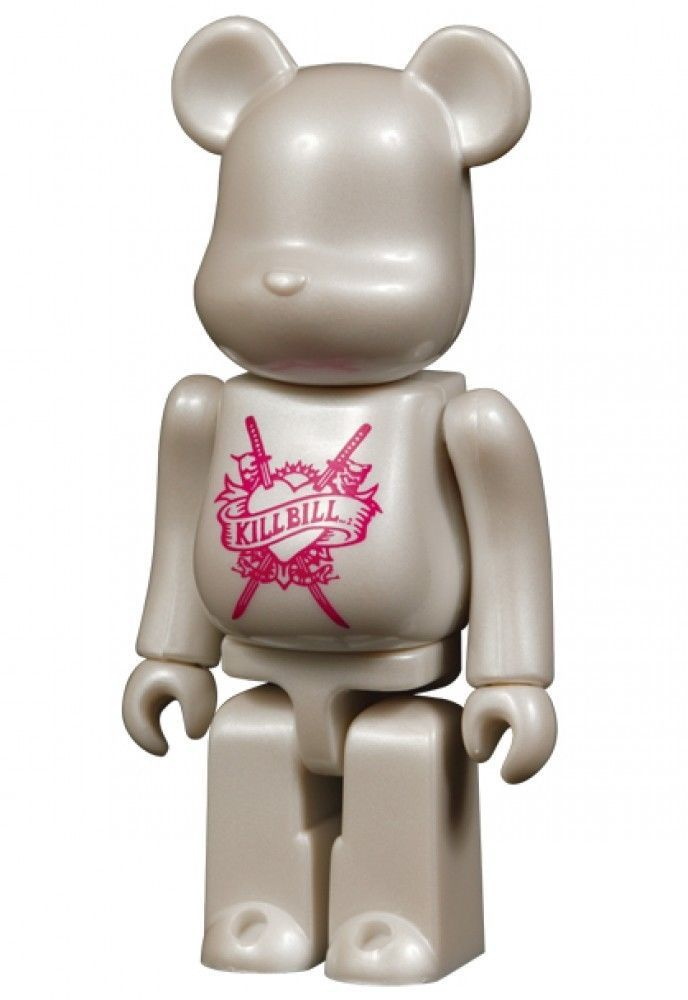 F/S Medicom Toy BE@RBRICK 400% KILL BILL 2 Love Bride Ver Bearbrick Figure #MEDICOMTOY