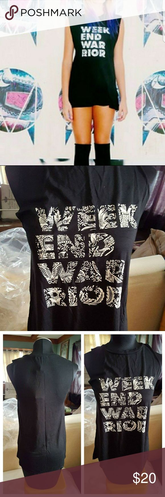 New BCBGeneration Week End War Rior Tank New Beautiful Bcbgeneratio Week End War Rior Tank  It's a must Have Tank   SIZE Small  I do bundle and offers are welcome BCBGeneration Tops Tees - Short Sleeve