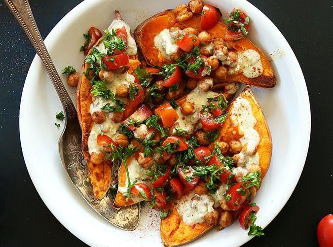 sweet potato mediterranean diet