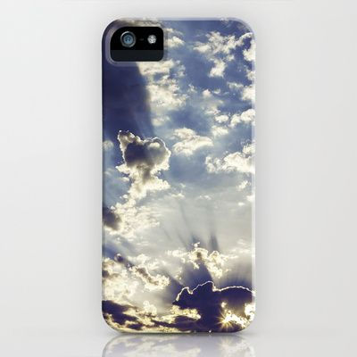 Oslo Sky  iPhone & iPod Case by Håkon Jørgensen - $35.00