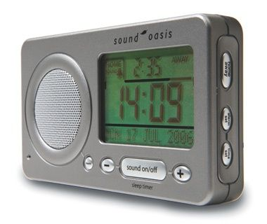 Sound Oasis Travel Alarm Clock and Sound Therapy System - Best Travel Gifts 2011 | Travel + Leisure