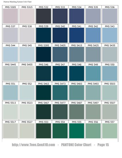 PANTONE Color Chart - PMS Color My World Pinterest Pantone - cmyk color chart