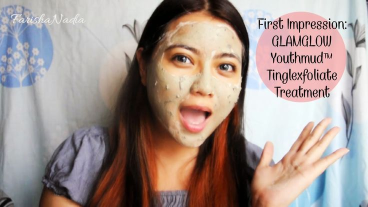 First Impression: GLAMGLOW® Youthmud™ Tinglexfoliate Treatment   Video