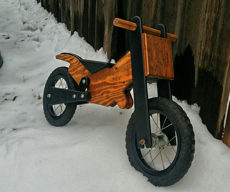 After seeing the other wooden balance bike instructables I was inspired to try my hand at building one. It so happened a good friend of mine has a son who just turned one and was a perfect candidate for the bike. I started with a Google image search for wooden balance bike and was shocked at how many different designs were out there. So I picked my favorites, drew a few possibilities, changed my mind 100 times. Then got to work.(when I say got to work, I mean it, as in, I didn't take too…