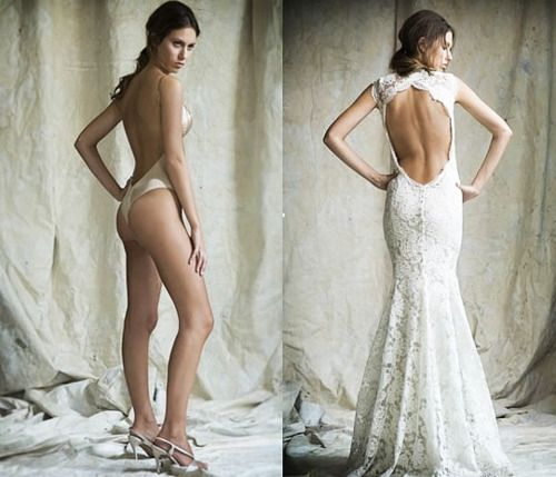"Good to know! The Carmen - The ""Carmen"" is made for cutout backless dresses, such as this lace Lazaro dress."