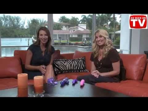 The Adam and Eve Shop at Home Shopping Show Channel Network, together with Jana Burgess and Dr. Kat Van Kirk, review the Venus Penis G Wireless Butterfly Vibrator.
