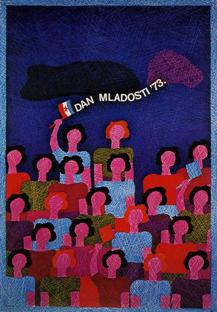 Plakat za Dan Mladosti, 1973.
